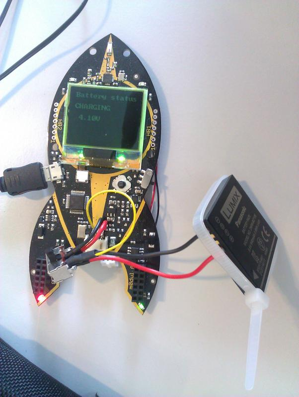 charging a camera battery